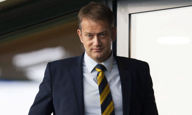 Scottish FA chief executive Ian Maxwell.