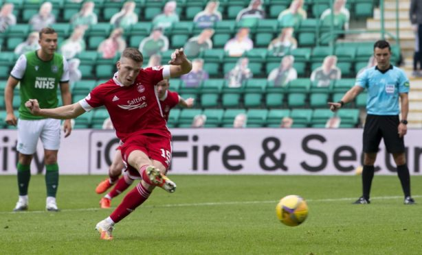 Lewis Ferguson has been a key figure for Aberdeen.