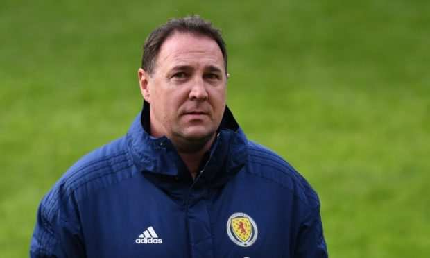 Malky Mackay during his time with the Scottish FA.