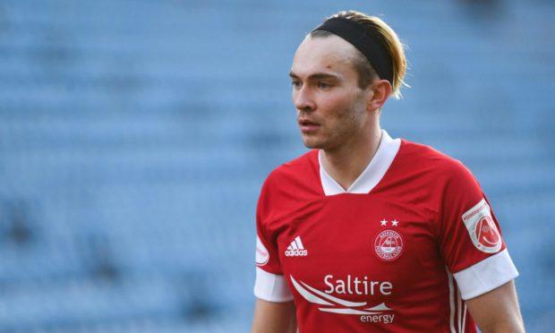 Aberdeen's Welsh international attacker Ryan Hedges