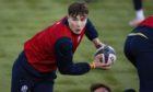 Jamie Dobie during a Scotland training session.