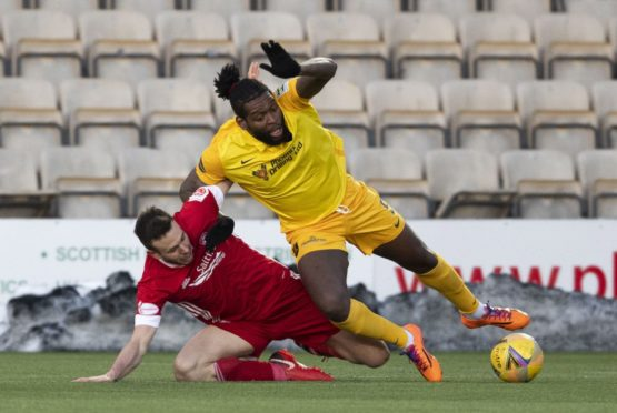 Aberdeen are closing in on Livingston striker Jay Emmanuel-Thomas