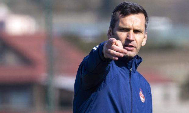 Aberdeen manager Stephen Glass