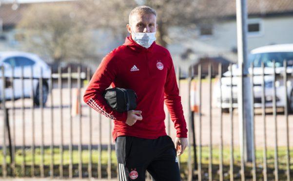 Aberdeen's Dylan McGeouch.