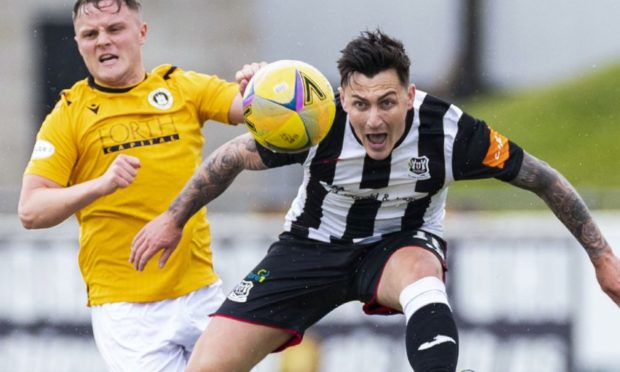 Archie Macphee in action for Elgin City