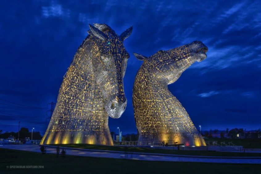 More Scots have visited the Eiffel Tower than The Kelpies
