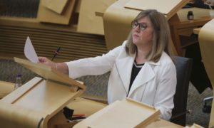 Alison Johnstone climate emergency