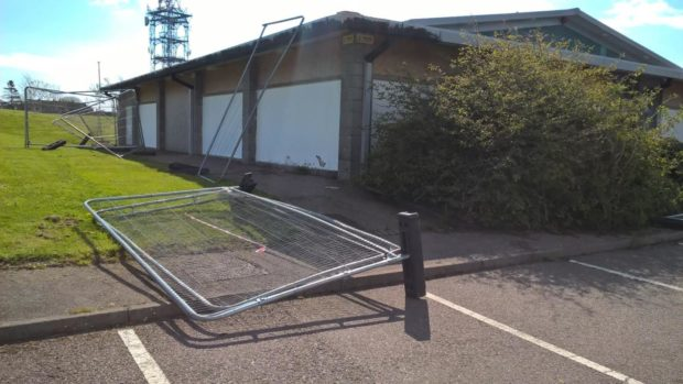 Northfield pool has been targeted repeatedly in recent days.