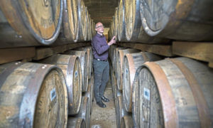 Brendan McCarron, who has been appointed master distiller at the Bunnahabhain, Tobermory and Deanston distilleries
