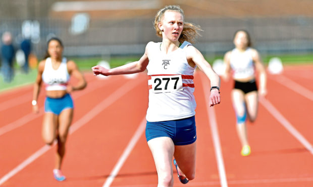 Roisin Harrison in action. Picture by Colin Rennie