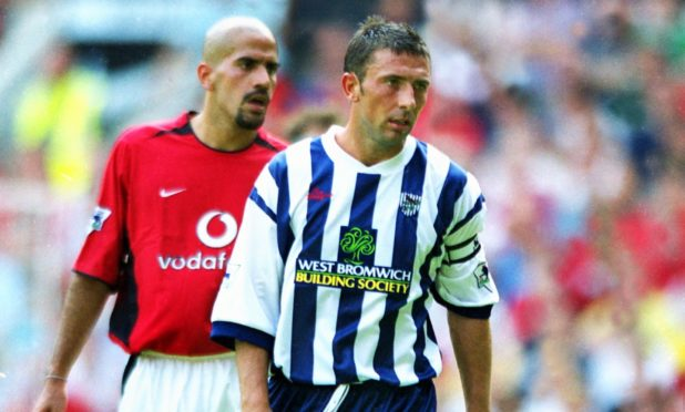 Former Dons boss Derek McInnes captained West Brom in the English Premier League as a player