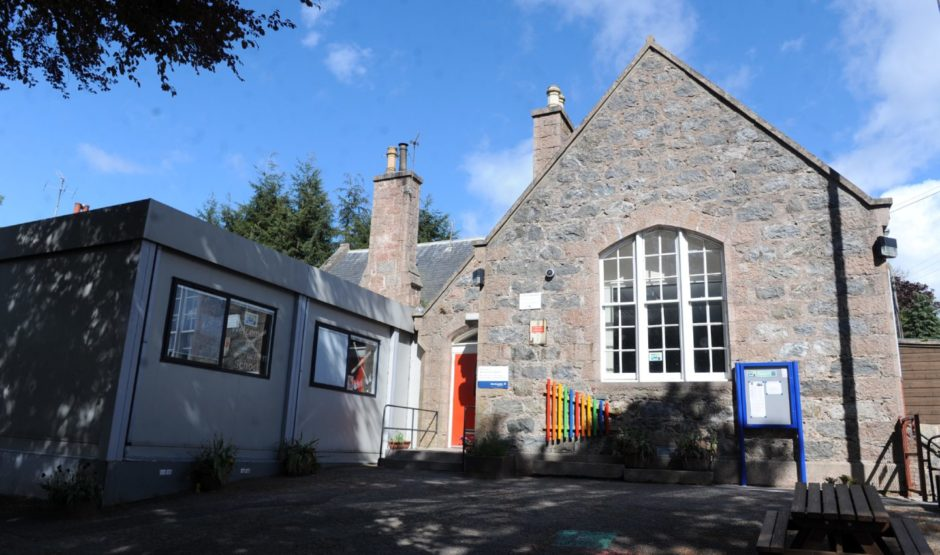 Strachan School has been closed since 2017 due to a lack of pupils.