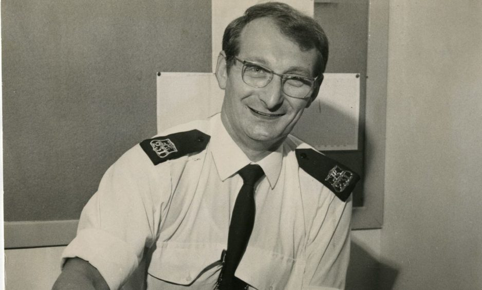 Sandy Marr after his return to work in 1976.