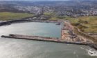To go with story by Erikka Askeland. Aberdeen Harbour Board has awarded two new contracts for the construction of the South Breakwater and Crown Wall, with a total value of ?60 million Picture shows; Aberdeen Harbour south harbour expansion. Aberdeen. Supplied by Weber Shandwick for Aberdeen Harbour Board Date; Unknown