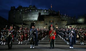 Performers at a previous Royal Edinburgh Military Tattoo.