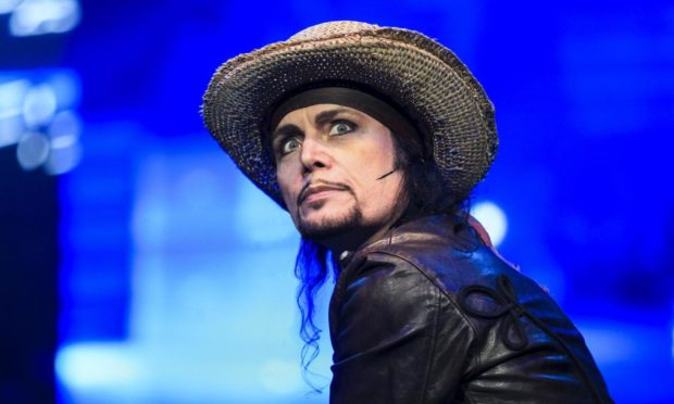 Adam Ant will perform at Aberdeen Music Hall next March.