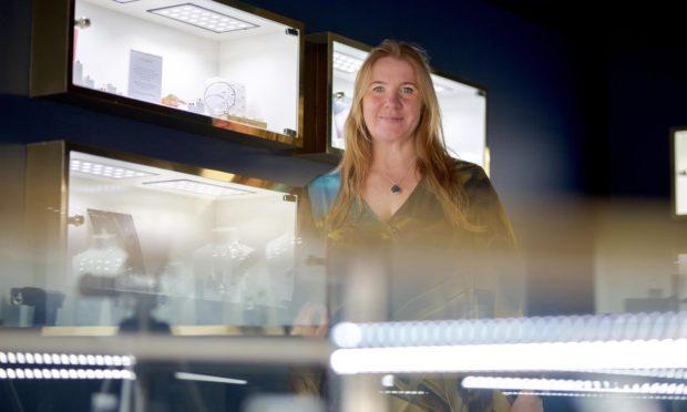 Alison Moore in her spacious new premises.