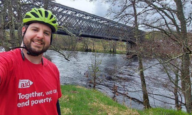 Reverend Andrew Kimmitt is gearing up for his 172km challenge on Saturday