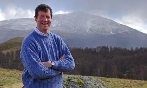 Author Angus MacDonald.