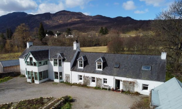 Beautiful Banchor Mains House is on the market in Newtonmore.