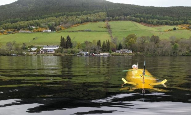 The experiments with Boaty McBoatface have been run from near Drumnadrochit.