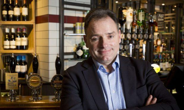 Marston's chief executive, Ralph Findlay.