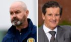 Tosh McKinlay, right, believes Steve Clarke can lead Scotland to the knockout stages at the Euros