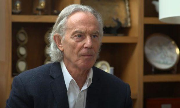 Tony Blair's new look stopped David Knight in his tracks