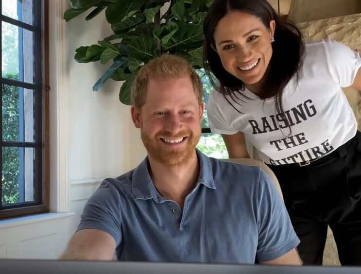 A still from upcoming documentary The Me You Can't See, featuring Prince Harry and Meghan Markle