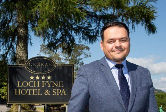 Crerar Hotel Group chief executive Chris Wayne-Wills.