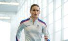 Zoey Clark in training at Aberdeen Sports Village