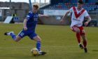 Andrew McCarthy, left, is staying with Peterhead.