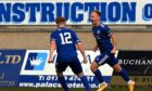 Jordon Brown, right, is staying with Peterhead