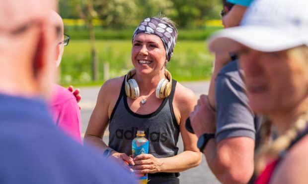 Diane Kemp completed her first marathon a year after giving up alcohol.