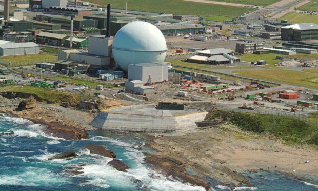 Dounreay nuclear complex near Thurso