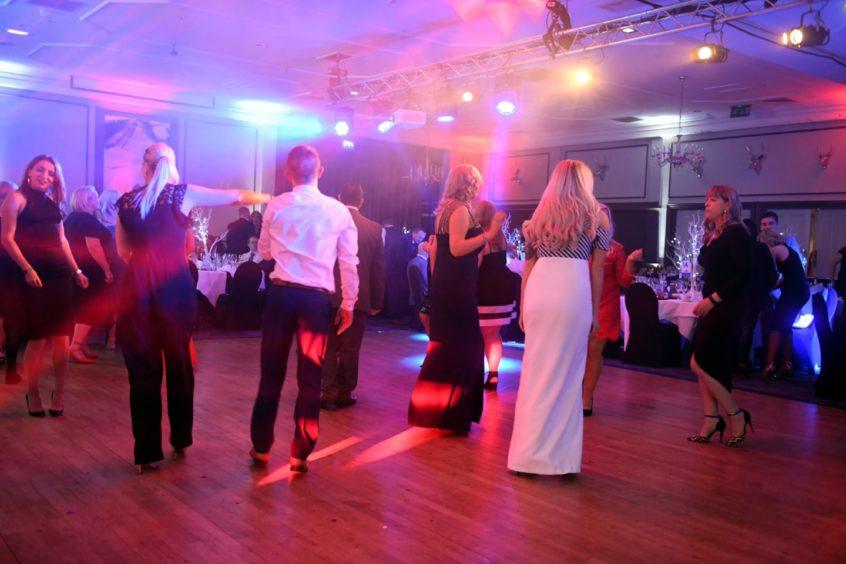 Evening Express Retail Awards at Ardoe House.