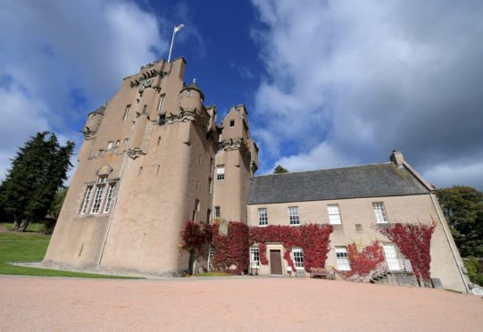 Crathes Castle is one of the sites for the music-making sessions this summer. Picture by Kath Flannery