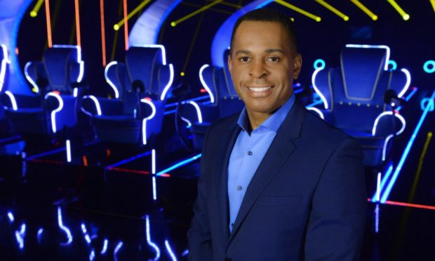 Presenter Andi Peters. Image supplied by Endemol Productions.