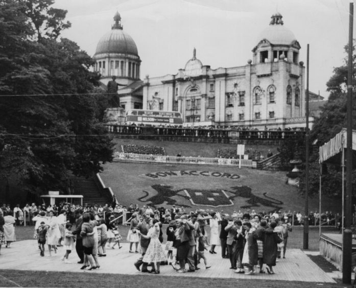The people of Aberdeen have enjoyed the gardens for decades.