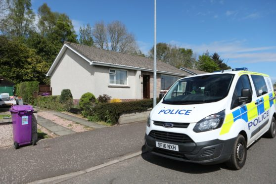 Phil Petrie was found dead inside his Brechin home.