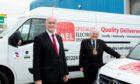 AEL (Aberdeen) chairman Graeme Mackie, left, with Lord Provost Barney Crockett.