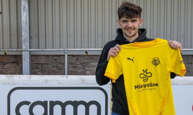 New Nairn County signing Grant Hogg.