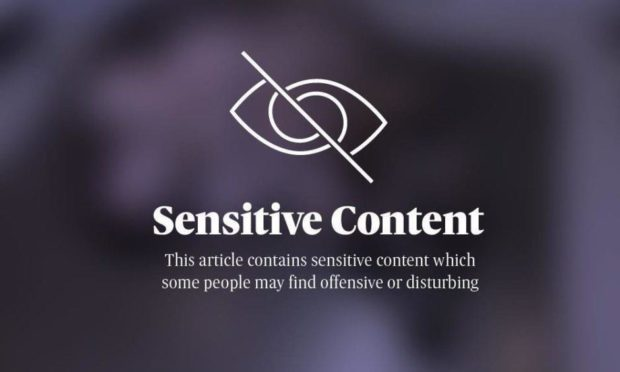 Sensitive content.