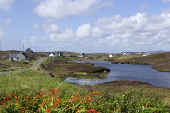 Grimsay, in the Outer Hebrides