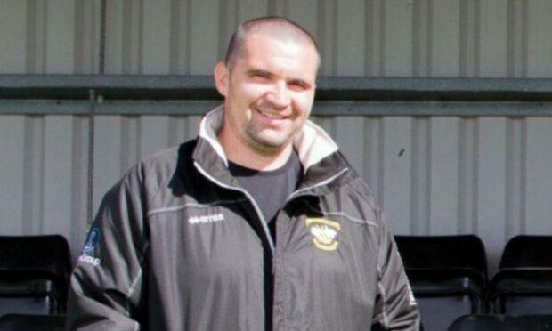 Clach manager Jordan MacDonald.