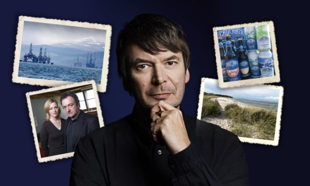 Ian Rankin has spoken of his love of the Highlands including Cromarty, the local ale, learning to swim and his famous detective's roots to the Black Isle