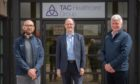 l-r Dr David Leiper, Dr Finlay Dick and Dr Ken Park, of TAC Healthcare Group.