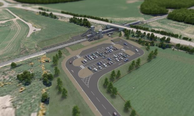 """Work on the new station at Inverness Airport is due to start """"as quickly as possible"""""""