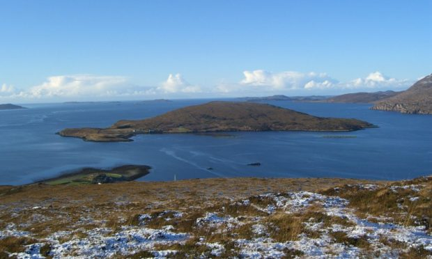 Isle Martin, off Ullapool, needs a new caretaker, but applications have now closed. Pic: Isle Martin trust.