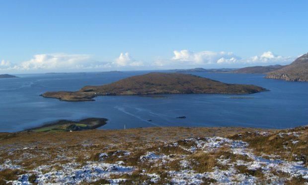 Isle Martin, off Ullapool, needs a new caretaker. Pic: Isle Martin trust.